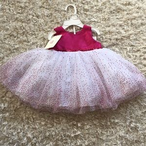 Other - NWT Beautiful pink formal dress Sz 3/6 months